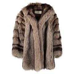 Yves Saint Laurent Vintage Fur Coat