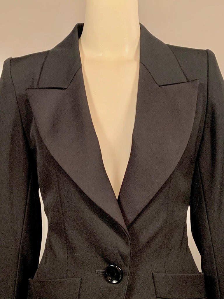 Yves Saint Laurent Vintage Le Smoking Tuxedo Suit  Never Worn YSL In Excellent Condition For Sale In New Hope, PA
