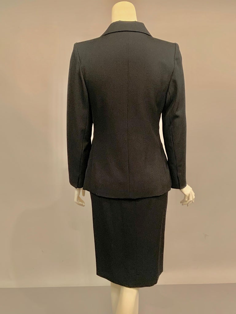 Yves Saint Laurent Vintage Le Smoking Tuxedo Suit  Never Worn YSL For Sale 2