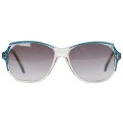 Yves Saint Laurent Vintage Marbled Sunglasses Mod. Salamine