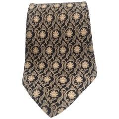 Yves Saint Laurent Vintage multicoloured silk tie