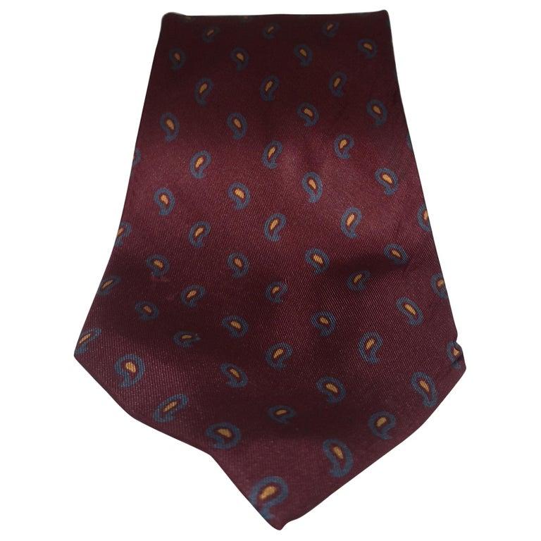 Yves Saint Laurent Vintage multicoloured tie For Sale
