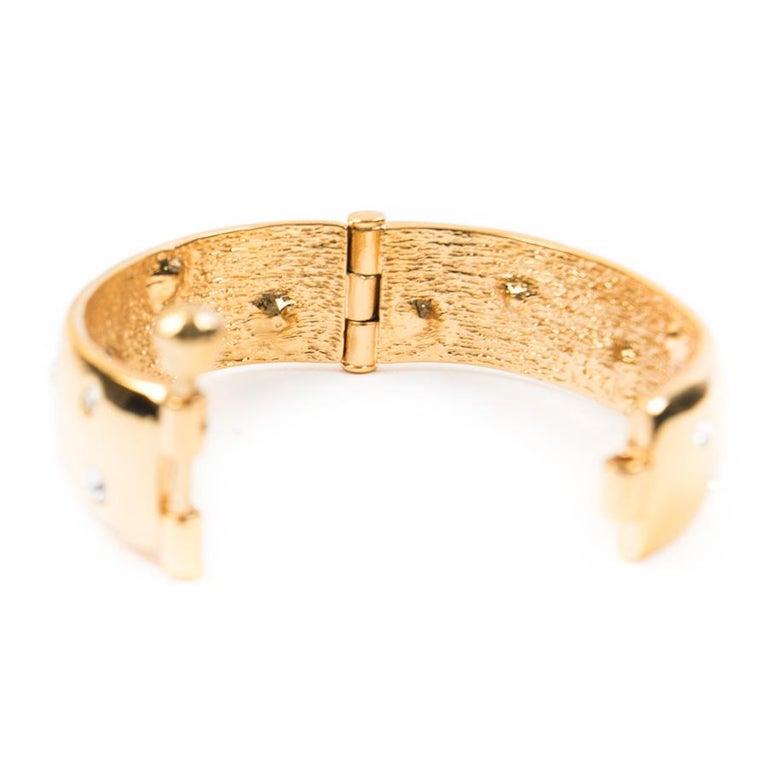 YVES SAINT LAURENT Vintage Necklace And Bracelet Set For Sale 7