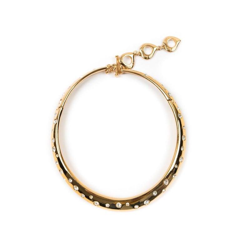YVES SAINT LAURENT Vintage Necklace And Bracelet Set In Good Condition For Sale In Paris, FR