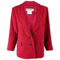 Yves Saint Laurent Vintage Rive Gauche Blazer Jacket 1980s