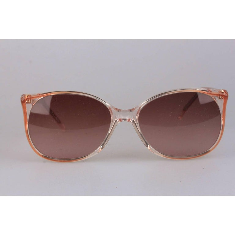 16mm Sunglasses Round Laurent Pomone Yves Saint Women's 58 Vintage eH29DbWEIY