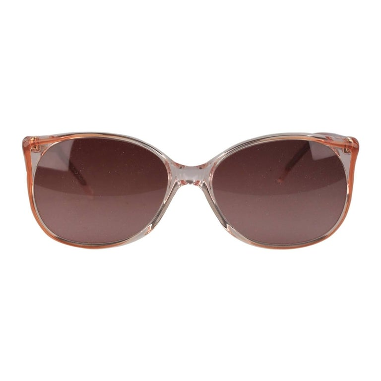 Yves Saint Laurent Vintage Pomone 58-16mm Round Women's Sunglasses