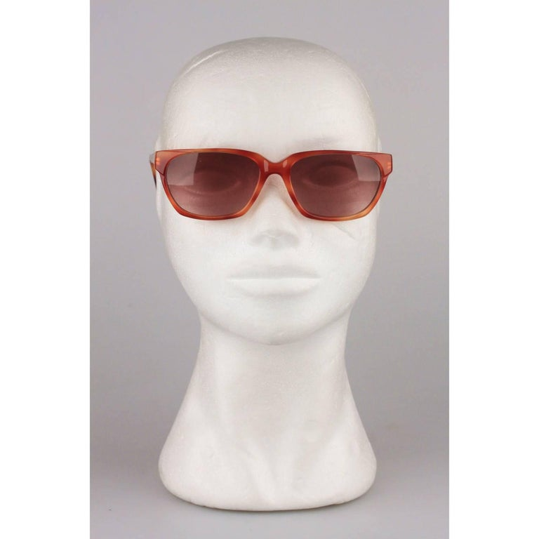 YVES SAINT LAURENT Vintage Sunglasses Phocos 56-16mm New Old Stock For Sale 2