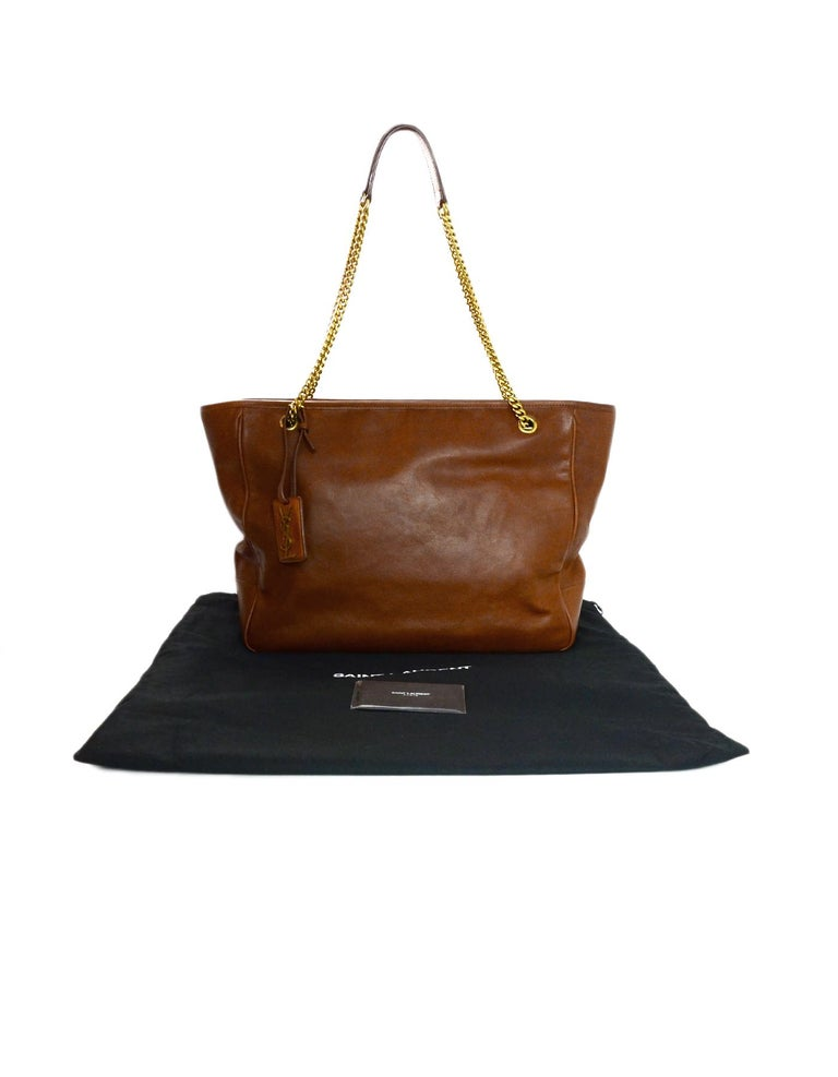 Yves Saint Laurent Ysl 2018 Brown Leather Niki Large