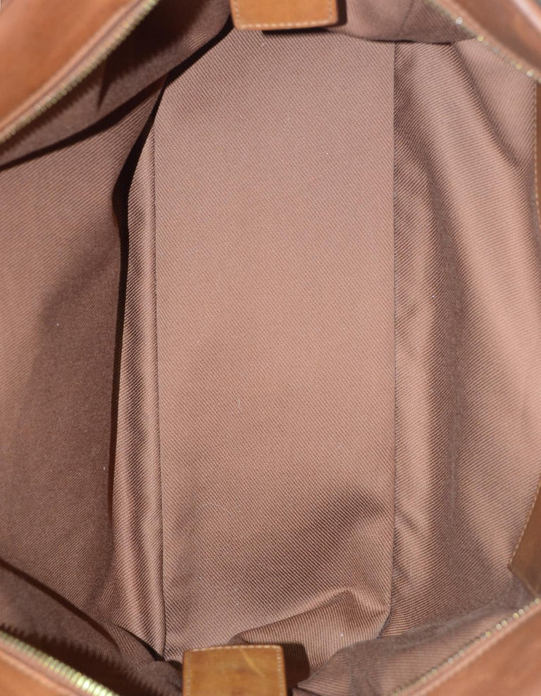Yves Saint Laurent Ysl 2018 Brown Leather Niki Large
