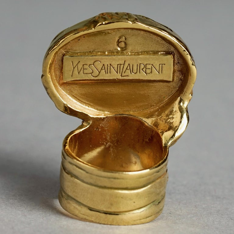 YVES SAINT LAURENT YSL Arty Turquoise Ring For Sale 6