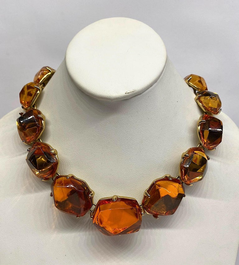 Yves Saint Laurent,  YSL by Robert Goossens Robert Necklace  In Good Condition For Sale In New York, NY