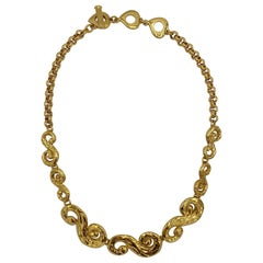 Yves Saint Laurent YSL Gold Necklace