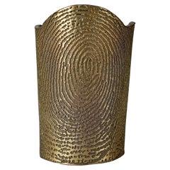 YVES SAINT LAURENT YSL Massive Fingerprint Cuff Bracelet by Stefano Pilati