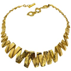 YVES SAINT LAURENT YSL Necklace Vintage 1990s