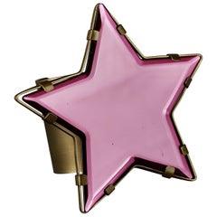 YVES SAINT LAURENT Ysl Star Plexiglas Cuff Bracelet  Stefano Pilati Summer 2008
