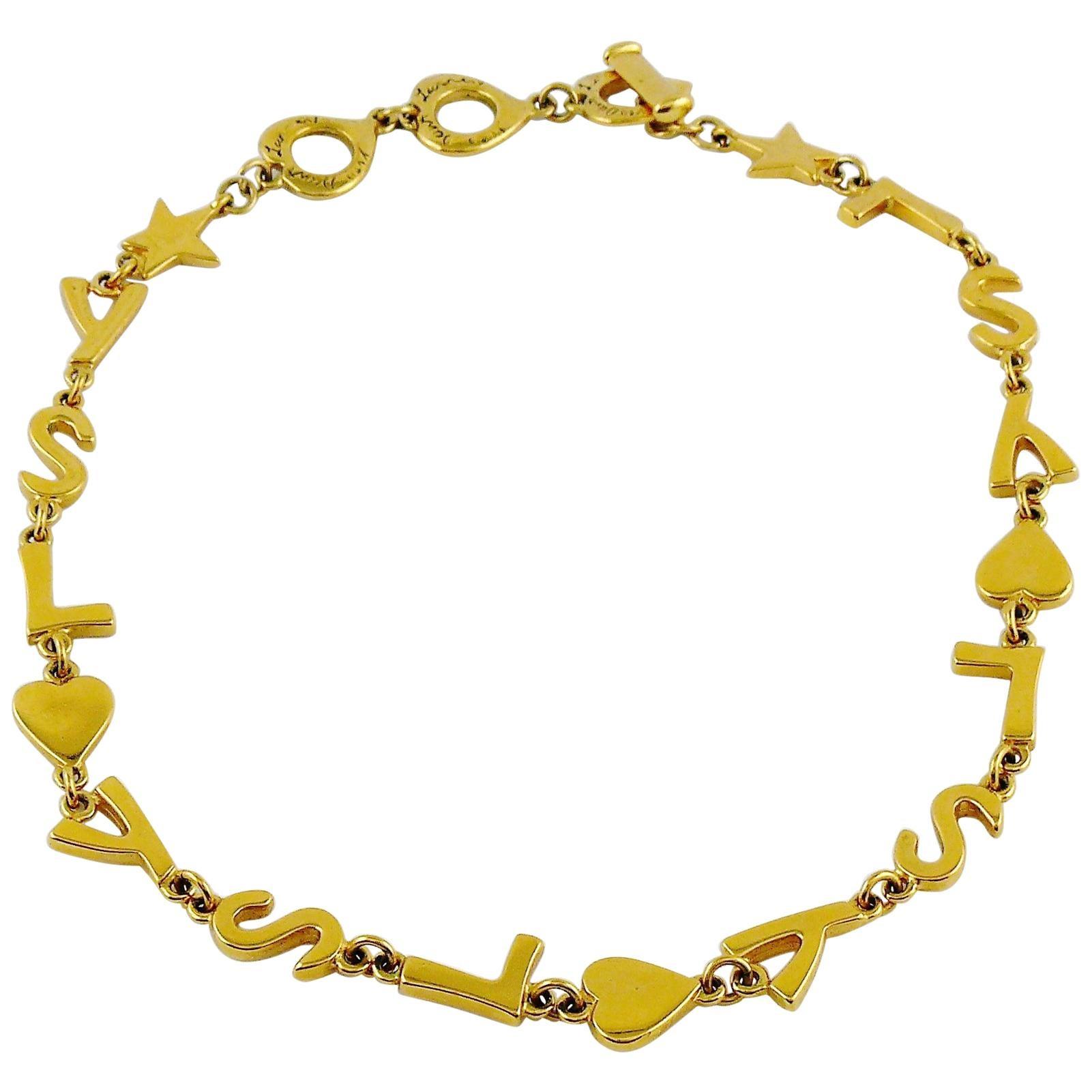 84bdc63ca31 Vintage Yves Saint Laurent Necklaces - 213 For Sale at 1stdibs