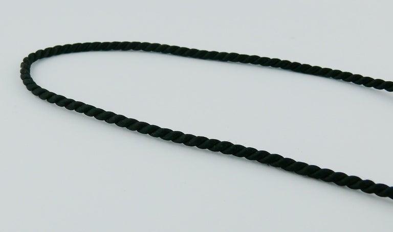 Women's Yves Saint Laurent YSL Vintage Opium Inro Pendant Necklace For Sale