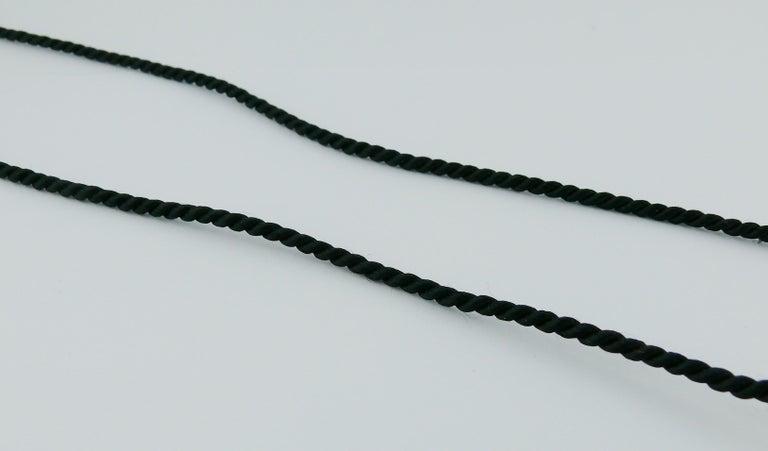 Yves Saint Laurent YSL Vintage Opium Inro Pendant Necklace For Sale 1