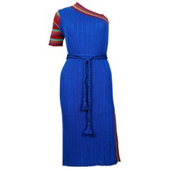 Yves Saint Laurent YSL Vintage Tricot Dress Size 38