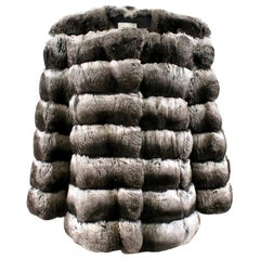 Yves Salomon Natural Fur Coat FR 40