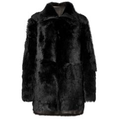 Yves Salomon Reversible Shearling Coat