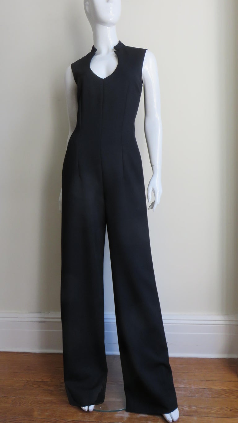 Yves St Laurent Cut out Jumpsuit A/W 2010 In Good Condition For Sale In New York, NY