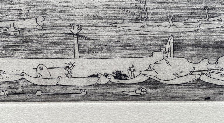 Untitled - Original Etching - Wittrock 5 For Sale 2