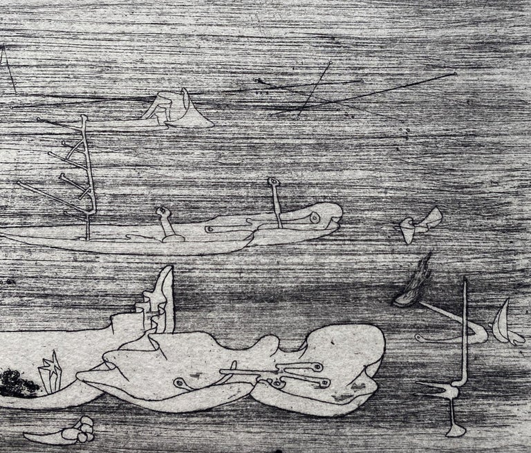 Untitled - Original Etching - Wittrock 5 For Sale 3
