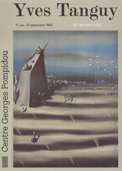 After Yves Tanguy-A Large Picture that Represents a Landscape-Poster