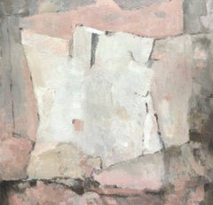 French Expressionist Abstract Oil Painting