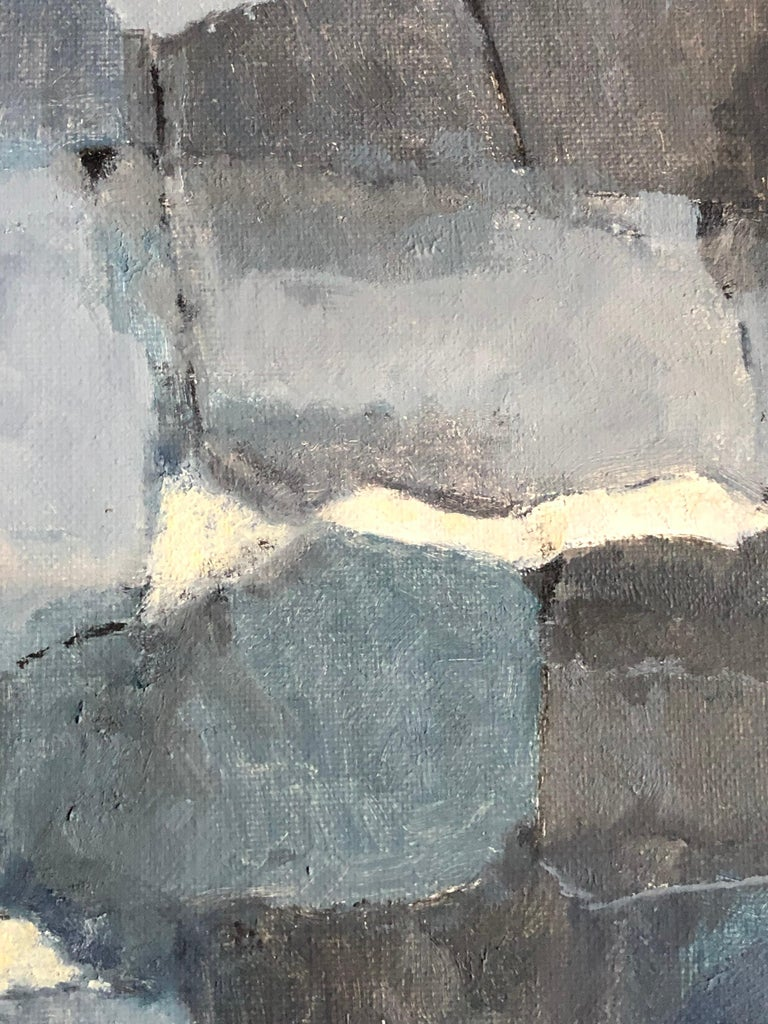 Parisian Abstract Expressionist Original Oil Painting - For Sale 1