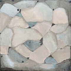 YVETTE DUBOIS-HABASQUE (1929-2016) FRENCH CUBIST ABSTRACT PAINTING