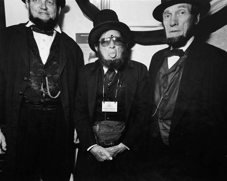 Yvette Marie Dostatni Portrait Photograph - Association of Lincoln Presidents
