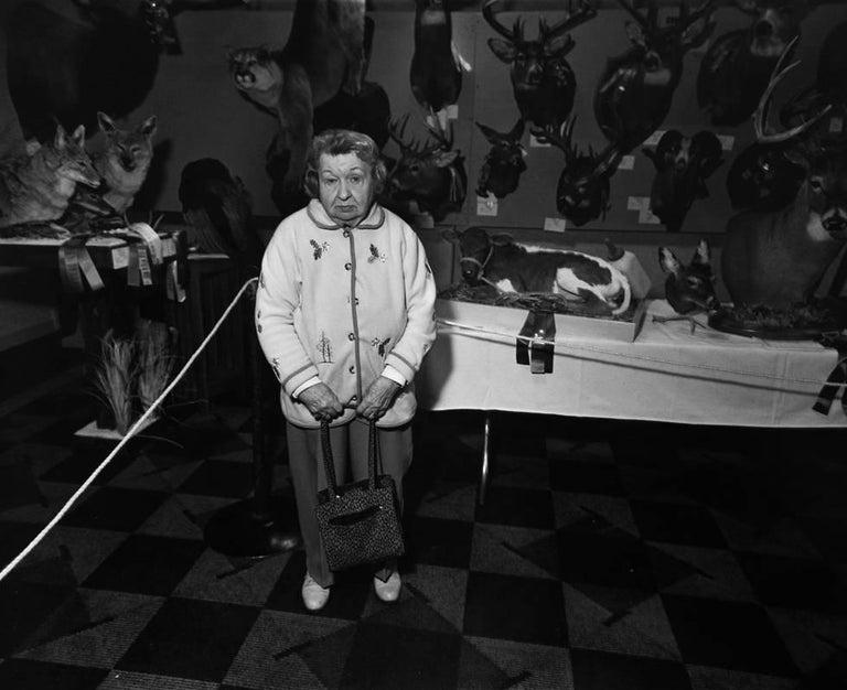 Yvette Marie Dostatni Black and White Photograph - Illinois Taxidermist Association