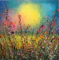 Your Love Is All I Ever Dreamt Of - Floral landscape painting  Art 21st Centu