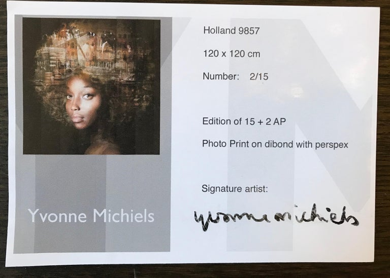 ''Holland'', Portrait of a Girl with Holland, Netherlands For Sale 1