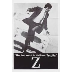 Z 1969 U.S. One Sheet Film Poster