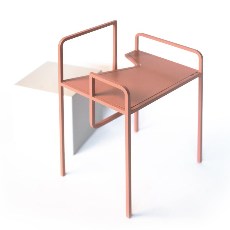 Our chairs come with a range of peerless forms and lines inspired by architecture and graphics. They come also with a range of different colors meant to complement every space individually. Depending on which site of the object you want to color it,