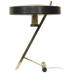 """""""Z-shaped"""" Table or Desk Lamp by Louis Kalff for Philips"""