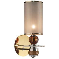 Z624 Brass and Nickel Wall Light