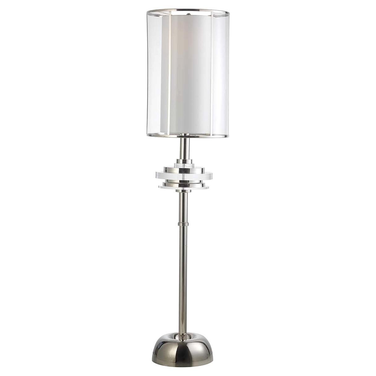 Z629 Brass Nickel Floor Lamp