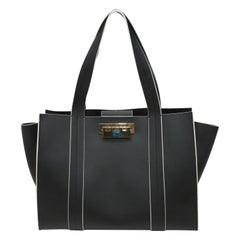 Zac Posen Black Leather Handbag