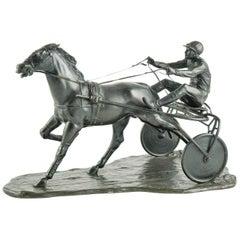Zach, Bruno Jockey Horseman Bronze, 1920