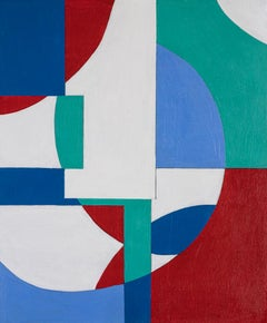 GA1220 Limited edition giclee geometric abstraction signed print
