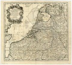 Algemeene Kaart der Vereenigde Nederlanden.