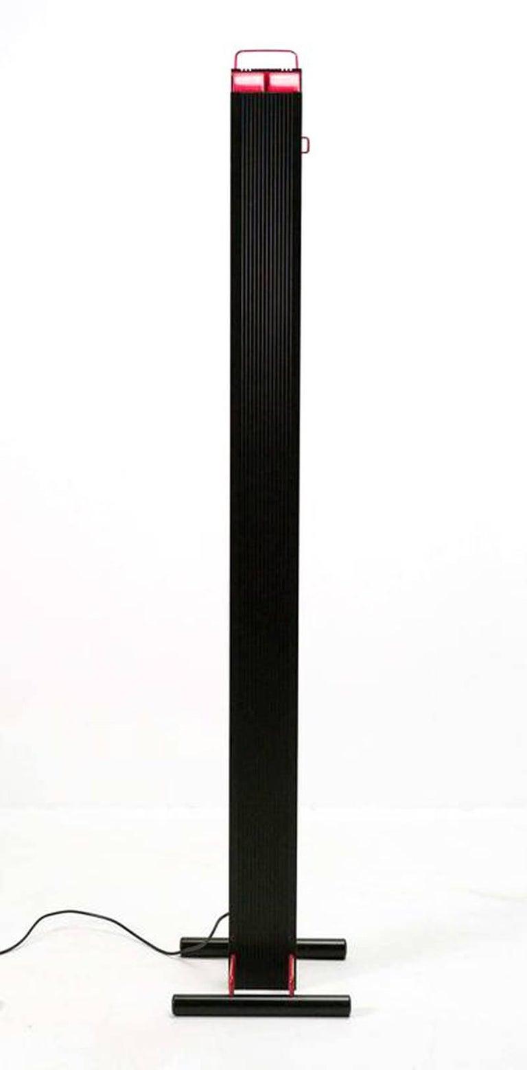 Zagar silvio carpani by stilnovo 1970s italian design black red post modern zagar silvio carpani by stilnovo 1970s italian design black red floor aloadofball Gallery
