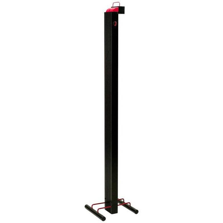 """""""Zagar"""" Silvio Carpani by Stilnovo 1970s Italian Design Black Red Floor Lamp For Sale"""