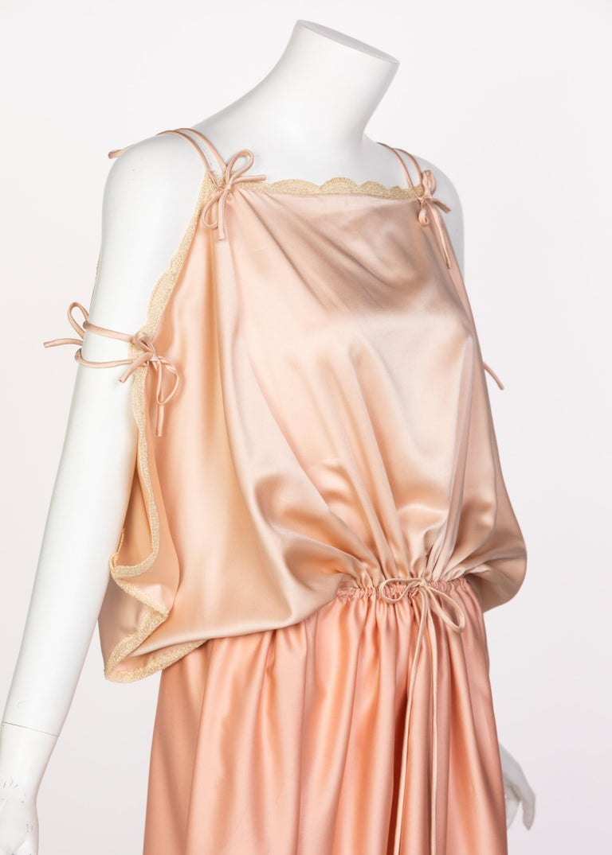Zandra Rhodes Field of Lilies Maxi Caftan Dress, 1970s For Sale 2