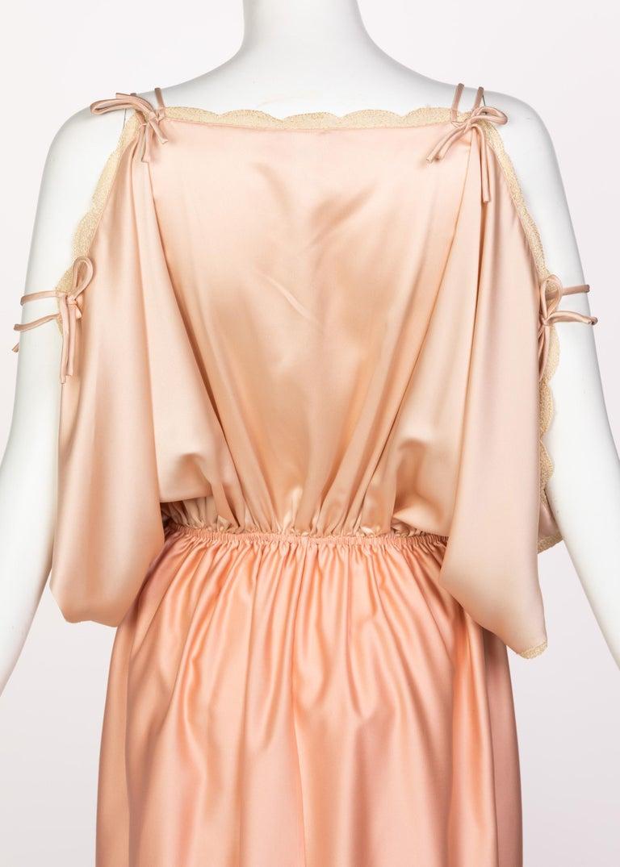 Zandra Rhodes Field of Lilies Maxi Caftan Dress, 1970s For Sale 3